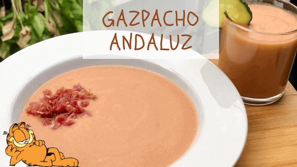 Gaspacho o Gazpacho Andaluz