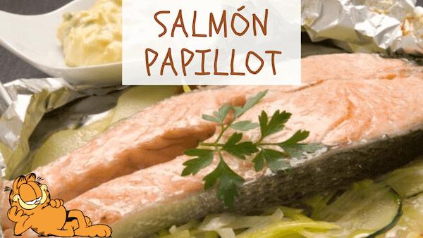 Salmón Papillote o Papillot