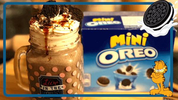 Milkshake, Smoothie ó Batido de Oreo