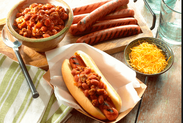 Receta Chilli Dogs