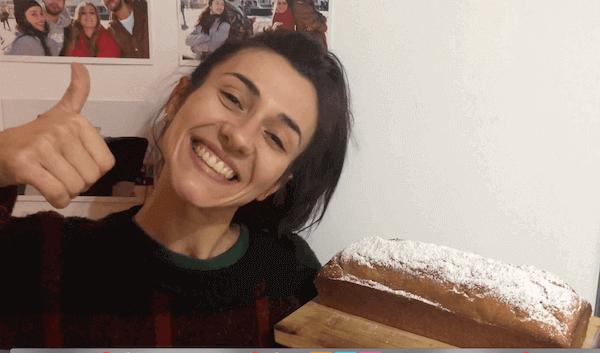 Bizcocho de Plátano Casero, Esponjoso, Fácil y Vegano