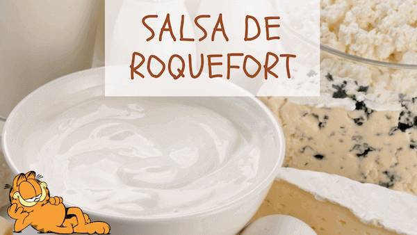 Salsa Roquefort Con Leche Fácil Para Solomillo, Pasta y Untar
