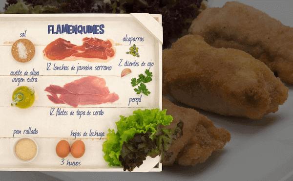 Flamenquines Ingredientes