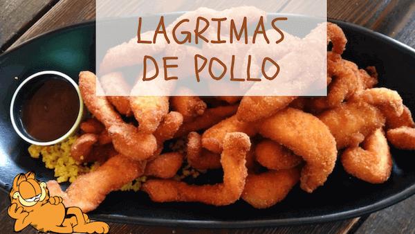 Lagrimas, Lagrimitas o Fingers de Pollo