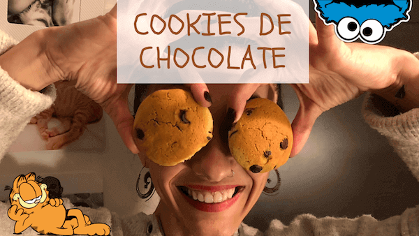 Galletas Cookies con Chispas y Pepitas de Chocolate