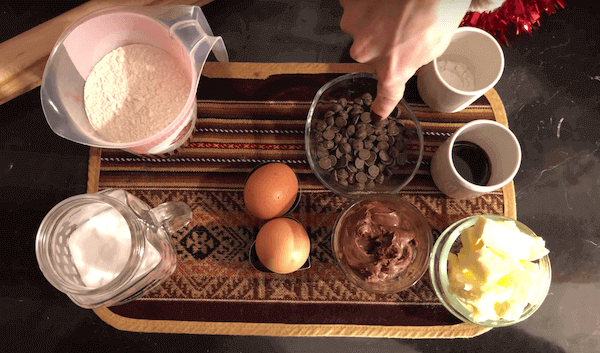 Ingredientes Galletas con Chispas Chocolate