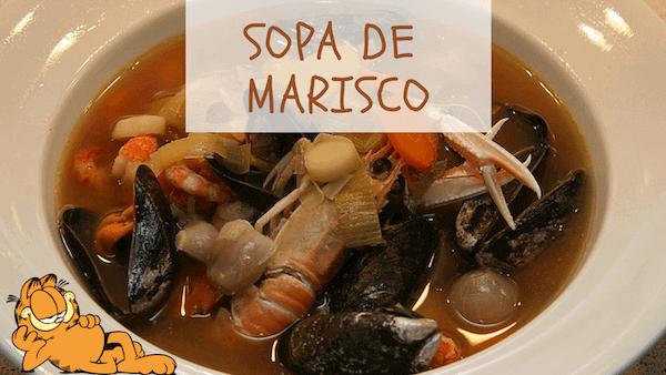 Sopa de Marisco y Pescado Tradicional, Casera Y Fácil