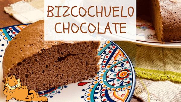 Bizcochuelo de Chocolate Esponjoso, Fácil y Húmedo