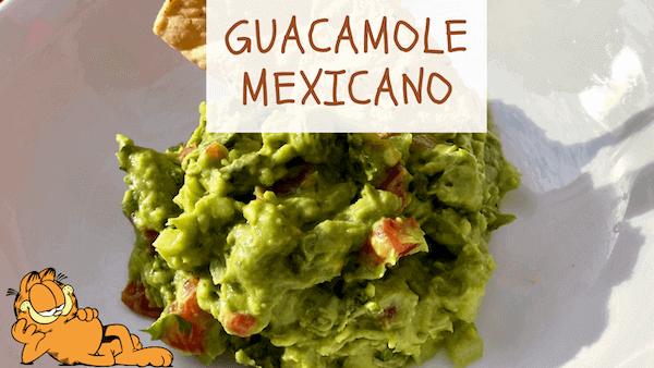 Guacamole Mexicano Receta Original