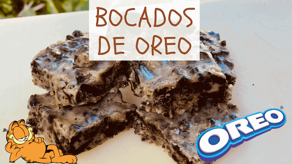 Bocados De Galletas Oreo y Chocolate Blanco ¡Fudge sin Horno!