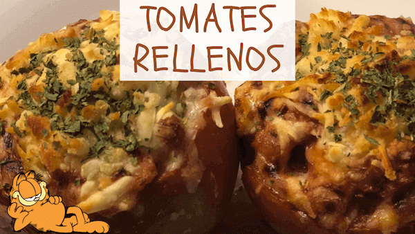 Tomates Rellenos de Carne Picada al Horno