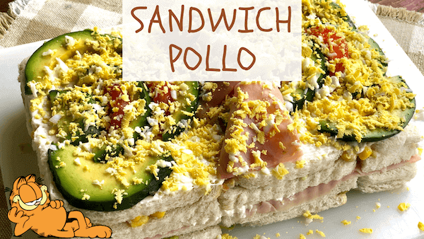 Pastel Frío o Sandwichón de Pollo