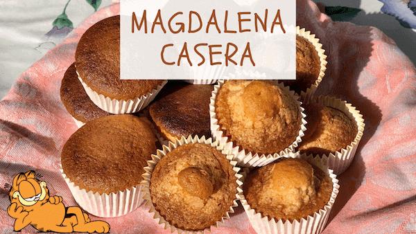 Magdalenas Caseras, Esponjosas, Fáciles y con Copete