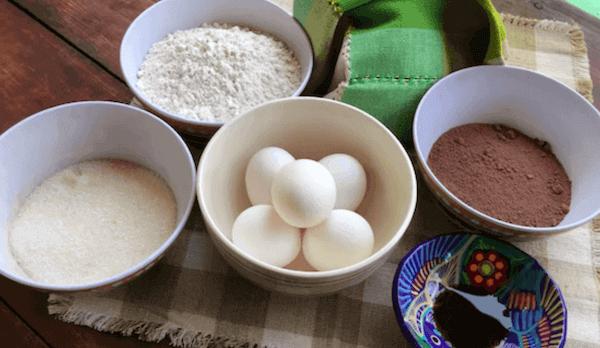 Bizcochitos Chocolate