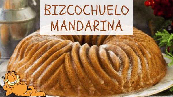 BIZCOCHUELO DE MANDARINA