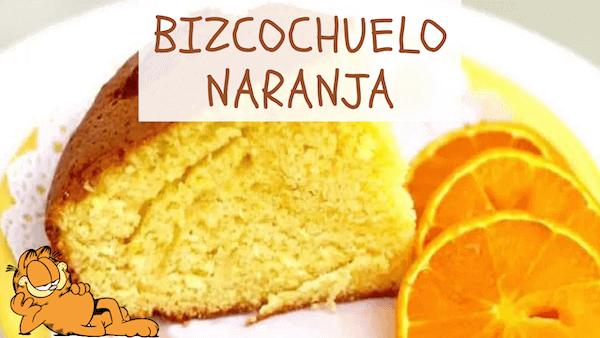 bizcochuelo de naranja