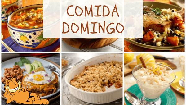 COMIDAS DE DOMINGO